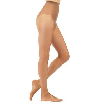Debenhams Bronze 7 Denier sheer and shimmer tights