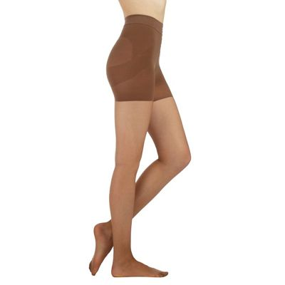 Debenhams Dark nude firm control shaping 10 Denier tights