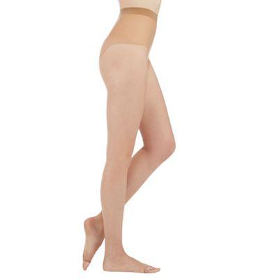 Debenhams Natural 7D open toed tights