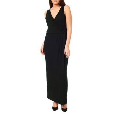 Windsmoor Black Jersey Maxi Dress