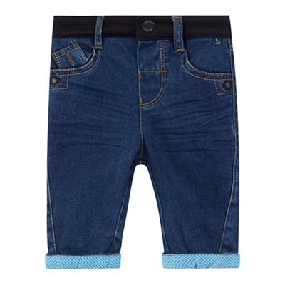Baker by Ted Baker Baby boys' blue cuffed jeans