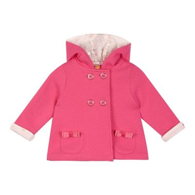 003e060e75be Baker by Ted Baker Baby girls  pink quilted jacket
