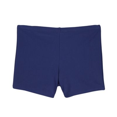 caba9dbbf6 Debenhams Boy's navy school swim trunks
