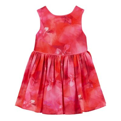 39359779db1d08 Baker by Ted Baker Girls  pink floral print dress