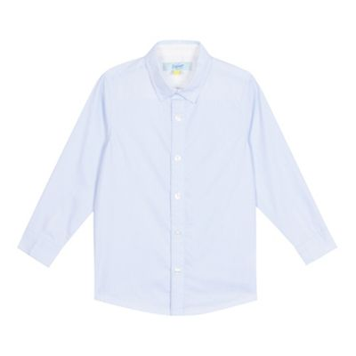 Baker by Ted Baker Boys' blue textured formal shirt