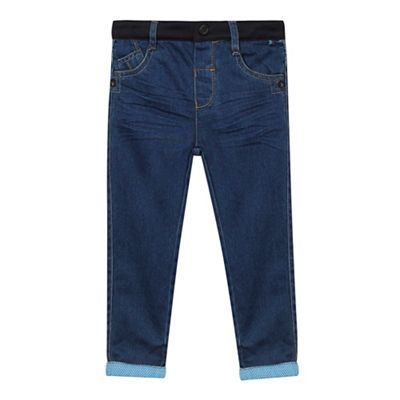 Baker by Ted Baker Boys' blue cuffed jeans