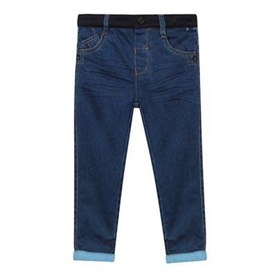 Baker by Ted Baker Boys' blue cuffed jeans