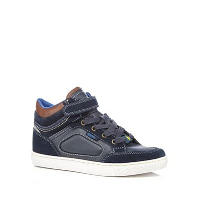 Baker by Ted Baker Boys' blue high top trainers