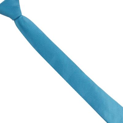 Baker by Ted Baker Boys' blue leaf patterned tie