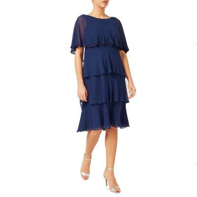 Jacques Vert Lorcan Layers Chiffon Dress
