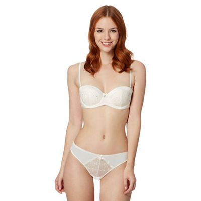 B by Ted Baker Ivory bridal balconette bra