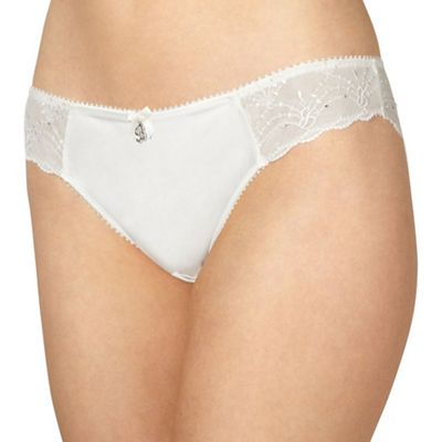 eeba8b32142c B by Ted Baker Ivory bridal lace brazilian briefs