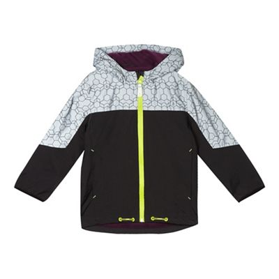 Baker by Ted Baker Boys' black reflective jacket