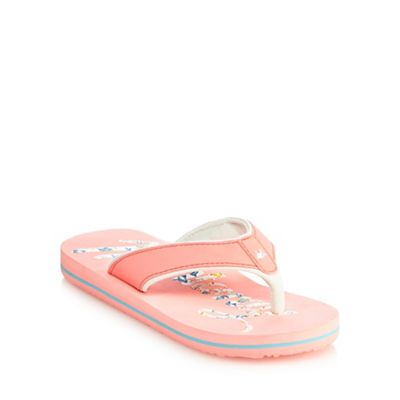0d1605d1f156 Mantaray Girls  light pink flip flops