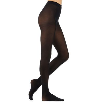 Debenhams Pack of three black 40 Denier microfibre opaque tights