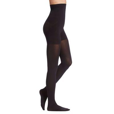 Debenhams Black 80 denier firm control high waist shaping tights