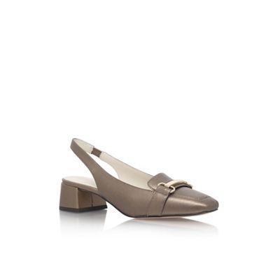 Anne Klein Metal 'Abbie' mid heel sandals