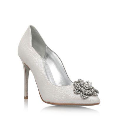 4bd09848f85 Nine West Natural  Elizza  high heel court shoes