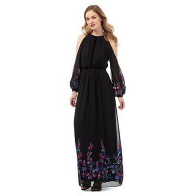 Ariella London Black 'Sheba' maxi dress
