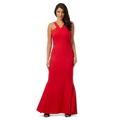 Ariella London Red 'Nancy' maxi dress