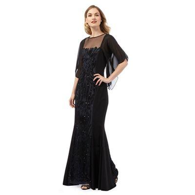 Ariella London Black 'Willow' maxi dress