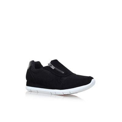 Anne Klein Black 'Wasyl' flat sneakers