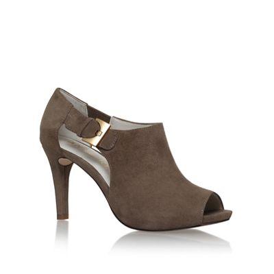 Anne Klein Brown 'Olita' mid heel shoe boots