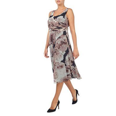 Jacques Vert Printed Prom Dress
