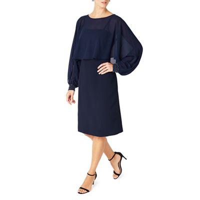 Jacques Vert Embellished Cuff Detail Dress