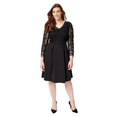 Studio 8 Sizes 12-26 Black avalon dress