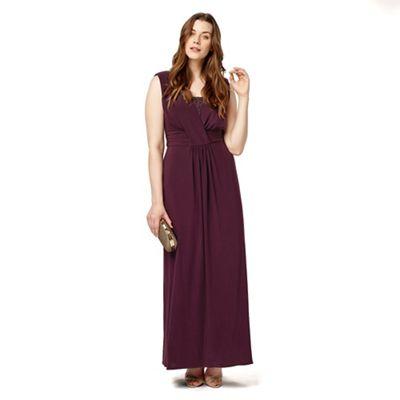 Studio 8 Sizes 12-26 Purple daphne dress