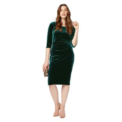 Studio 8 Sizes 12-26 Green eva dress