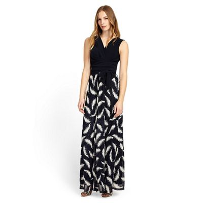 Phase Eight Domenika Feather Lace Maxi Dress