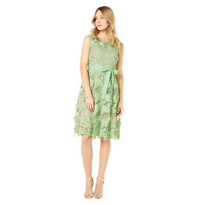 Phase Eight Apple Green Genie 3D Lace Dress