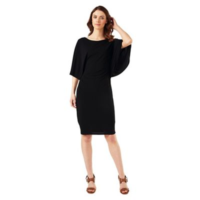 Phase Eight Black Caley Cape Dress
