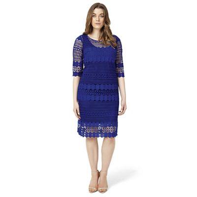 Studio 8 Sizes 12-26 Ultra-Violet cynthia dress