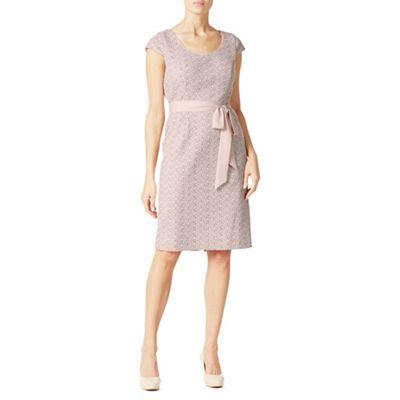 Jacques Vert Lace Panel Shift Dress