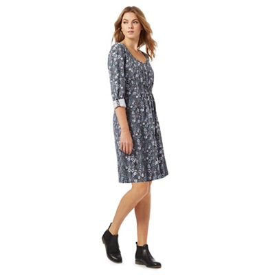 Animal Multi-coloured floral print tunic dress