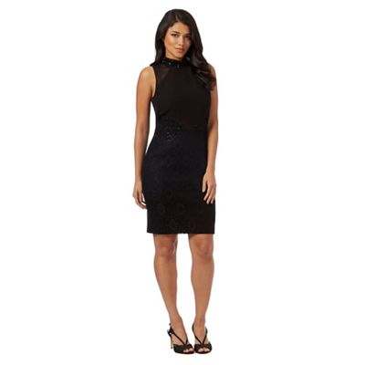 Ariella London Black 'Jayla' knee length dress