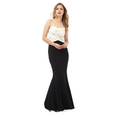 Ariella London Black 'Katinka' maxi dress