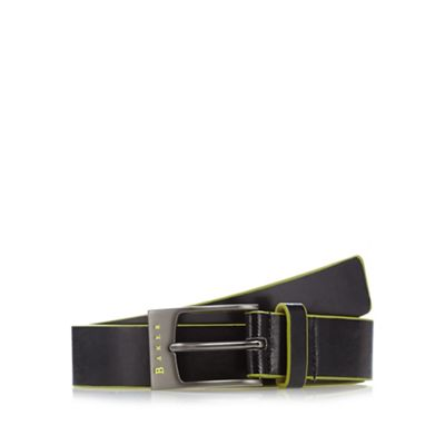 Baker by Ted Baker Boy's black pin buckle belt