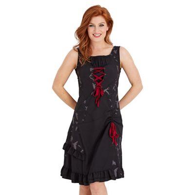 Black all new mix it up dress