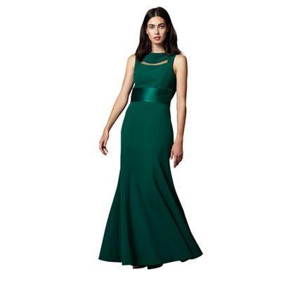 Alyssa Corded Fishtail Dress