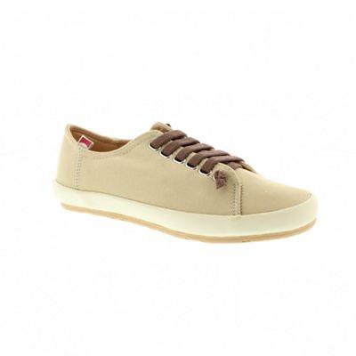 Beige borne ladies shoe