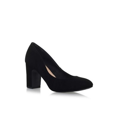 Black 'Cecilia' high heel court shoes