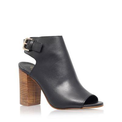 Black 'Assent' high heel shoe boot