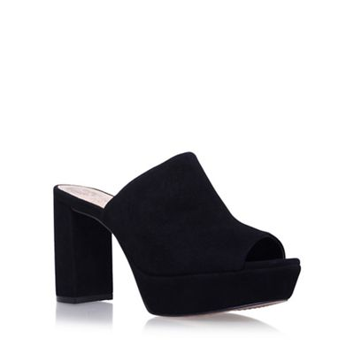 Black 'Basilia' high heel sandals