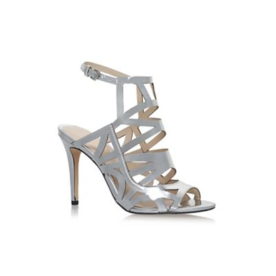 2ad170ef6f4 Silver  Nasira  high heel sandals