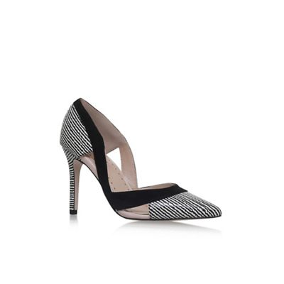 Black 'Ceile' high heel court shoes