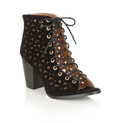 Black 'Alain' ankle boots